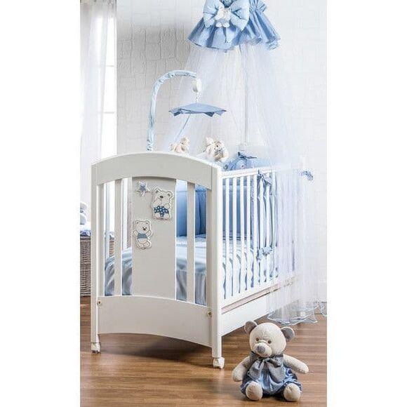 Βρεφικό κρεβάτι Picci σχέδιο Mami Lux blue στο Bebe Maison