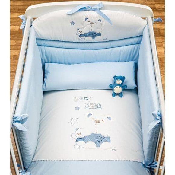 Ολοκληρωμένο βρεφικό δωμάτιο Picci σχέδιο Mami Lux Blue στο Bebe Maison