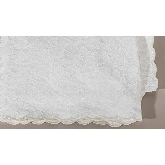 Κουβέρτα πικέ Jaquard κρεβατιού Picci σχέδιο Joelle στο Bebe Maison