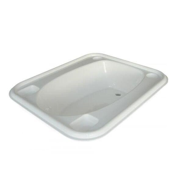 Μπανιέρα τετράγωνη Baby Bath X-treme Baby άσπρη στο Bebe Maison
