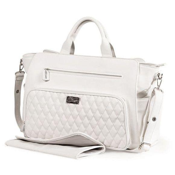 Τσάντα αλλαξιέρα Picci από τη συλλεκτική σειρά Dili Best σχέδιο Virgi white στο Bebe Maison