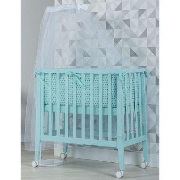 Βρεφικό κρεβάτι και λίκνο Picci σχέδιο Nina Converse aqua στο Bebe Maison