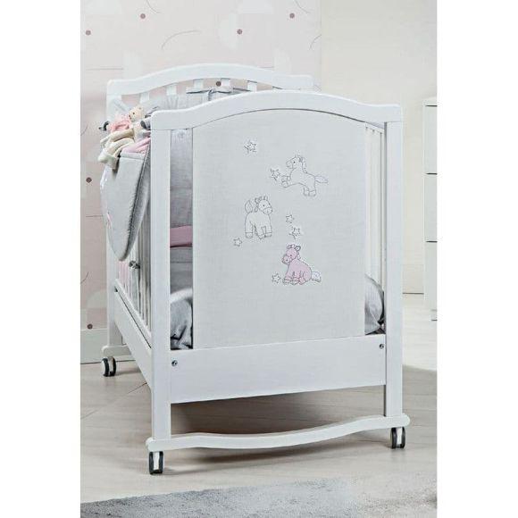 Βρεφικό κρεβάτι Picci σχέδιο Milky Rosa στο Bebe Maison
