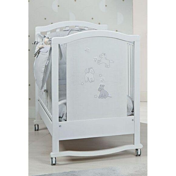Βρεφικό κρεβάτι Picci σχέδιο Milky Grigio στο Bebe Maison