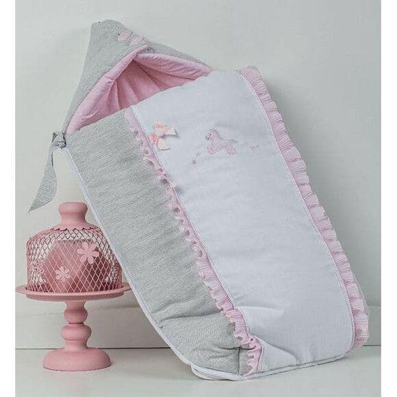 Σάκος καροτσιού Picci Milky Rosa στο Bebe Maison
