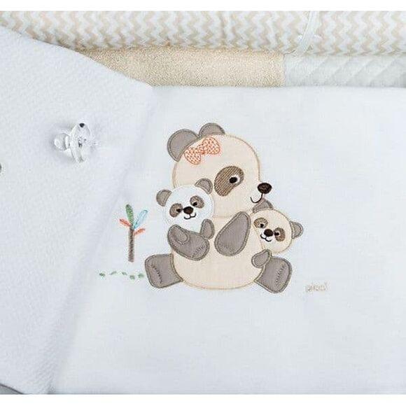 Κουβέρτα fleece κρεβατιού Picci Bobo sand στο Bebe Maison