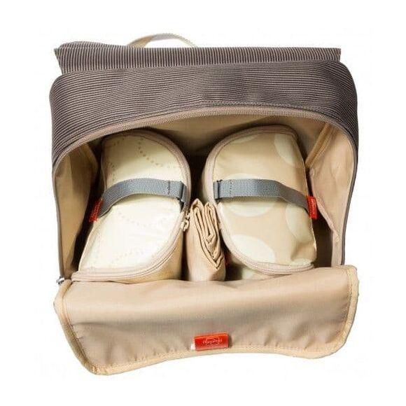 Τσάντα αλλαξιέρα Pacapod Hastings Mocha στο Bebe Maison