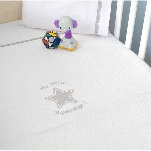 Κουβέρτα πικέ κρεβατιού Oliver σχέδιο 301 στο Bebe Maison