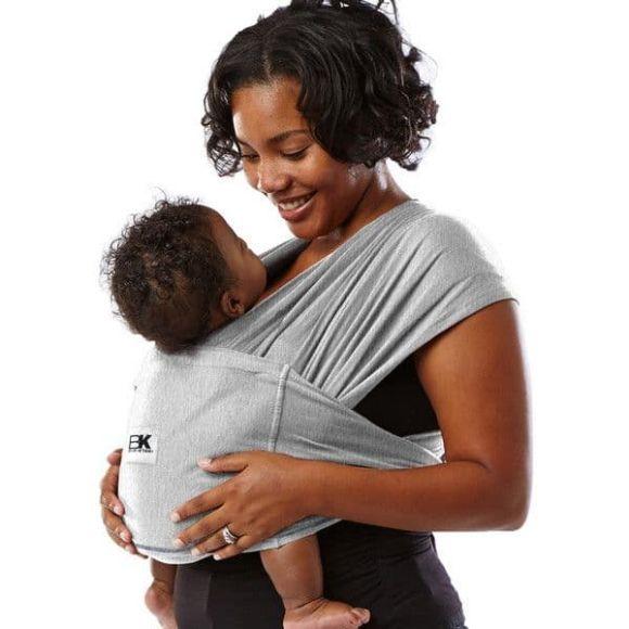 Μάρσιπος Baby K'tan Heather grey στο Bebe Maison