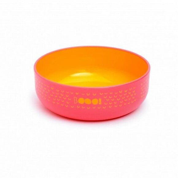 Παιδικό πιάτο βαθύ Suavinex ροζ Booooo! στο Bebe Maison