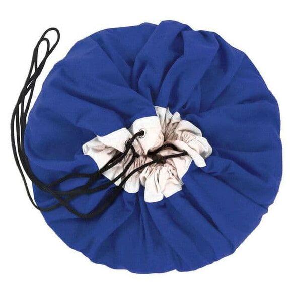 Play & Go Στρώμα παιχνιδιού-τσάντα 2 σε 1 Cobalt blue στο Bebe Maison
