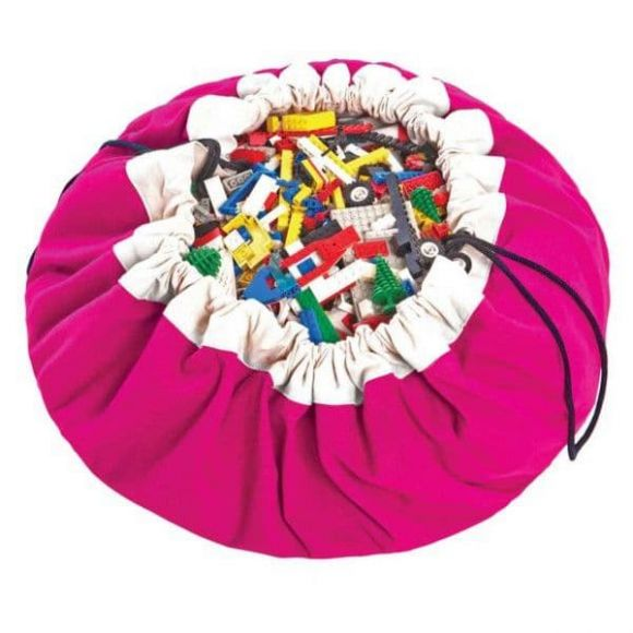 Play & Go Στρώμα παιχνιδιού-τσάντα 2 σε 1 fuchsia στο Bebe Maison