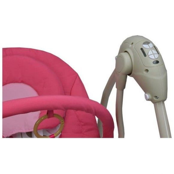 Ηλεκτρική Κούνια Bebe Stars Swing Pink 005-185 στο Bebe Maison