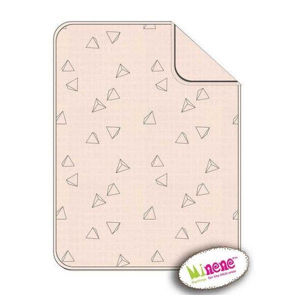 Minene Πικέ κουβέρτα 3D Pink στο Bebe Maison
