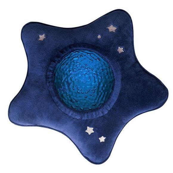 Pabobo Βluestar Υφασμάτινος προβολέας αστέρι με εικόνες θαλάσσης και ήχους DAP01 στο Bebe Maison