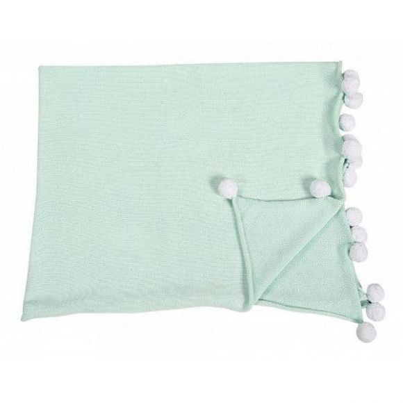 Βρεφική κουβέρτα Lorena Canals Bubbly mint στο Bebe Maison