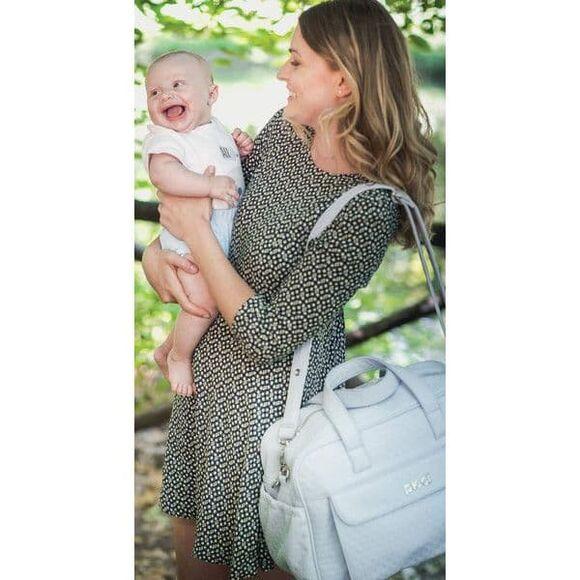 Τσάντα αλλαξιέρα Picci Borsa Stella beige στο Bebe Maison