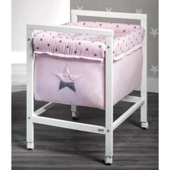 Λίκνο Picci Nido σχέδιο Stella rosa στο Bebe Maison