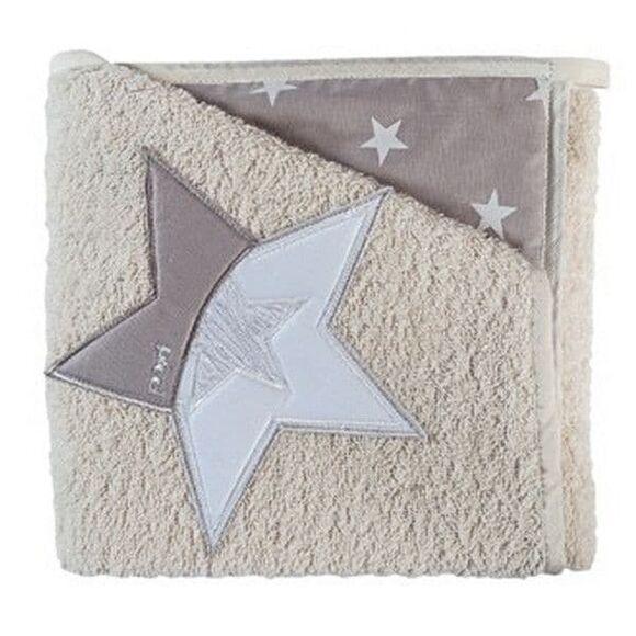 Μπουρνούζι Picci σχέδιο Stella sabbia στο Bebe Maison