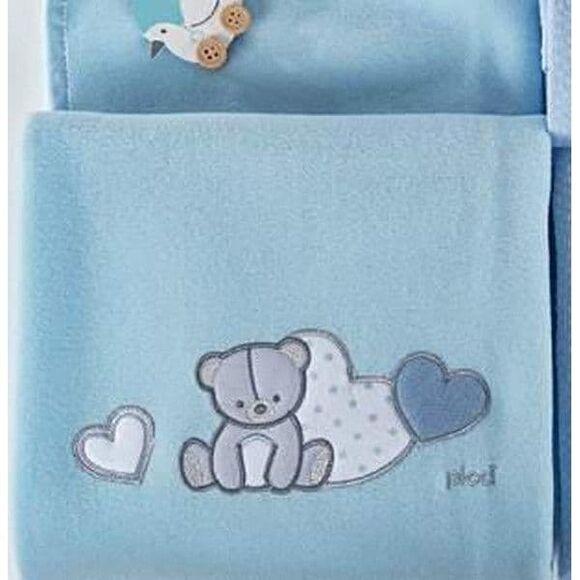 Κουβέρτα fleece αγκαλιάς Picci Amelie cielo στο Bebe Maison