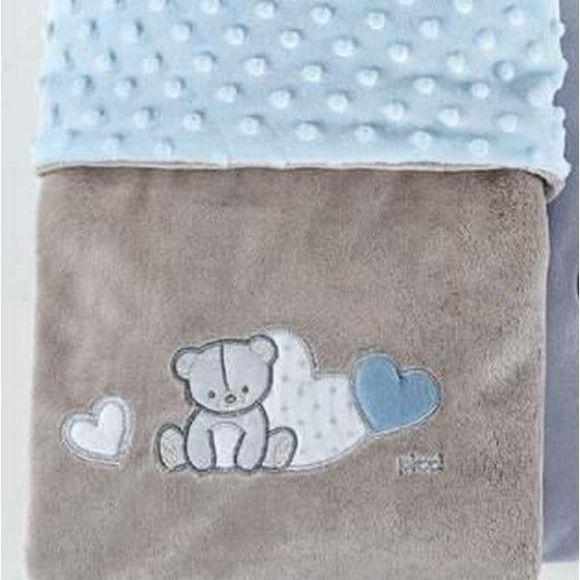 Κουβέρτα βελουτέ αγκαλιάς Picci Amelie cielo στο Bebe Maison