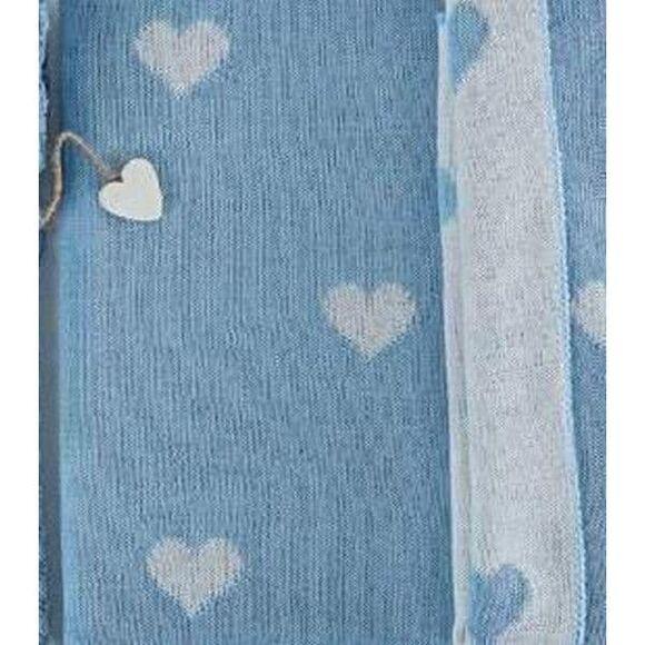 Κουβέρτα μάλλινη αγκαλιάς Picci Amelie cielo στο Bebe Maison