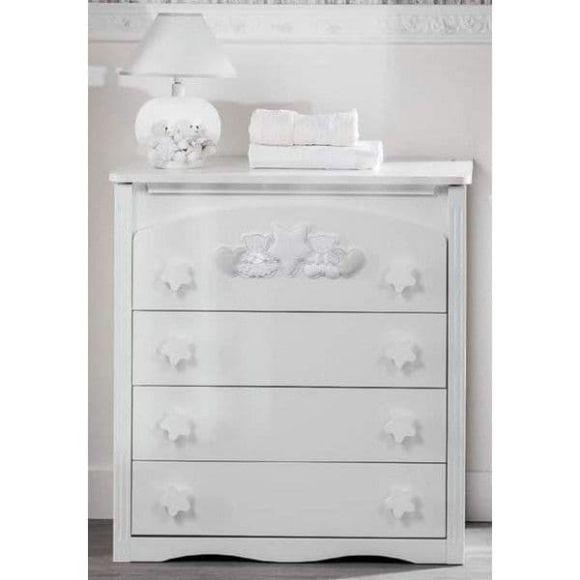 Συρταριέρα Picci σχέδιο Nanny bianco 50 x 81 x 89 cm στο Bebe Maison