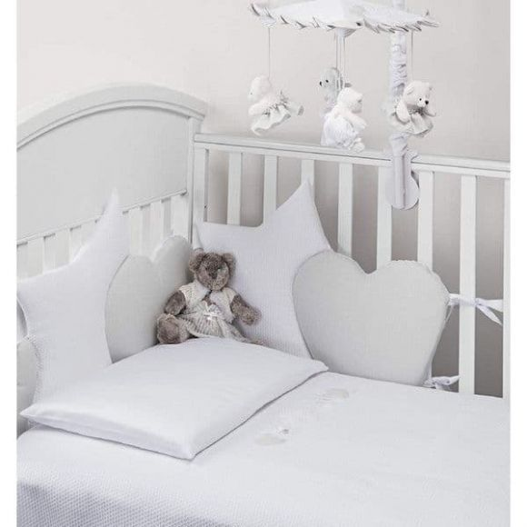 Πάντα προστασίας Picci σχέδιο Nanny bianco στο Bebe Maison