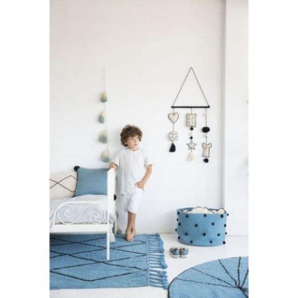 Παιδικό χαλί Lorena Canals bereber petroleum 140x200 στο Bebe Maison