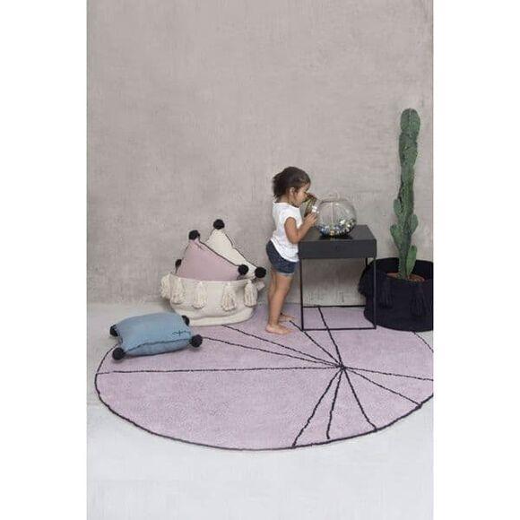 Lorena canals χαλί δωματίου στρόγγυλο trace wood rose 160 εκ. στο Bebe Maison