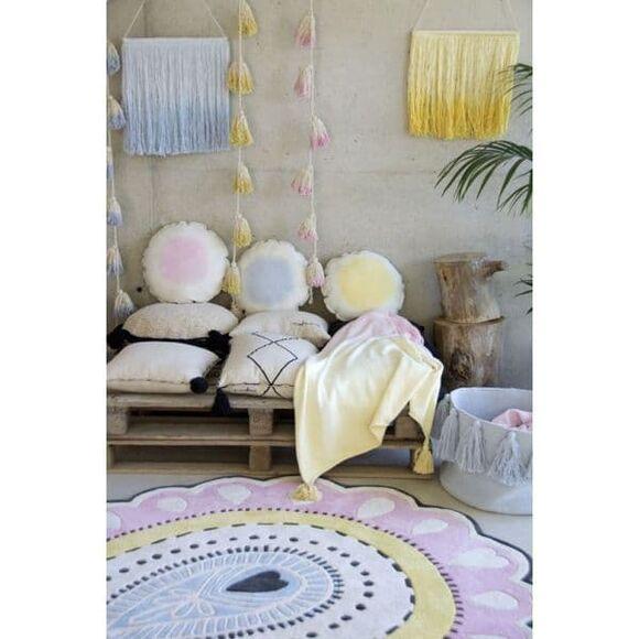 Γιρλάντα Lorena Canals pon pon tie-dye κίτρινο στο Bebe Maison