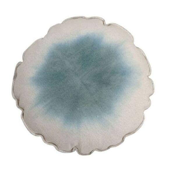 Στρόγγυλο μαξιλάρι Lorena Canals tie-dye μπλε στο Bebe Maison