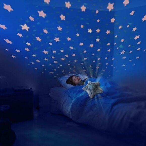 Pabobo Greystar Προβολέας Milky way υφασμάτινο με κινούμενο ουρανό & ήχους στο Bebe Maison