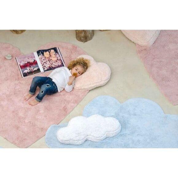 Παιδικό χαλί Lorena Canals Puffy καρδιά με μαξιλάρι στο Bebe Maison