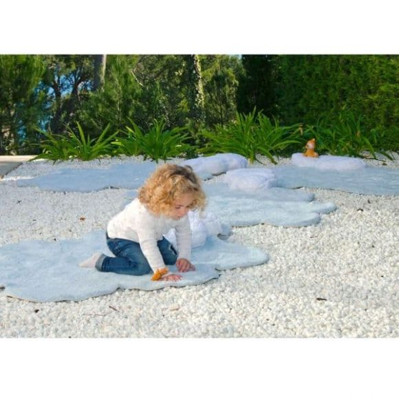 Παιδικό χαλί Lorena Canals Puffy συννεφάκι με μαξιλάρι στο Bebe Maison