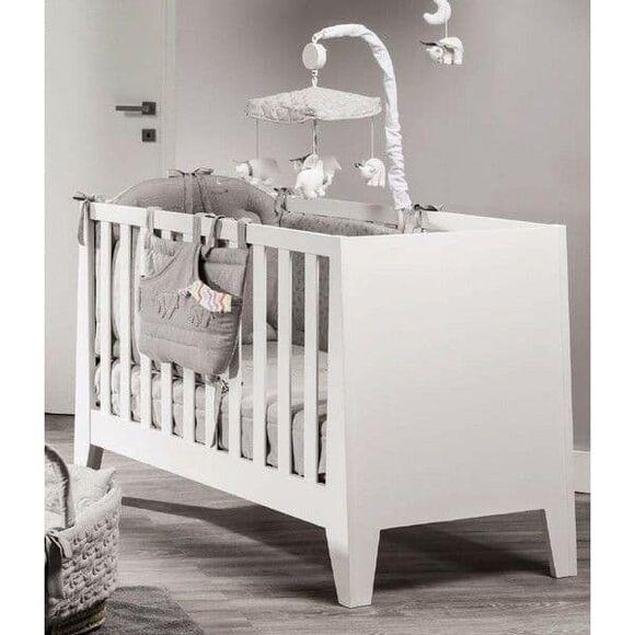 Βρεφικό κρεβάτι Picci από τη συλλεκτική σειρά Dili Best σχέδιο Astrid white στο Bebe Maison