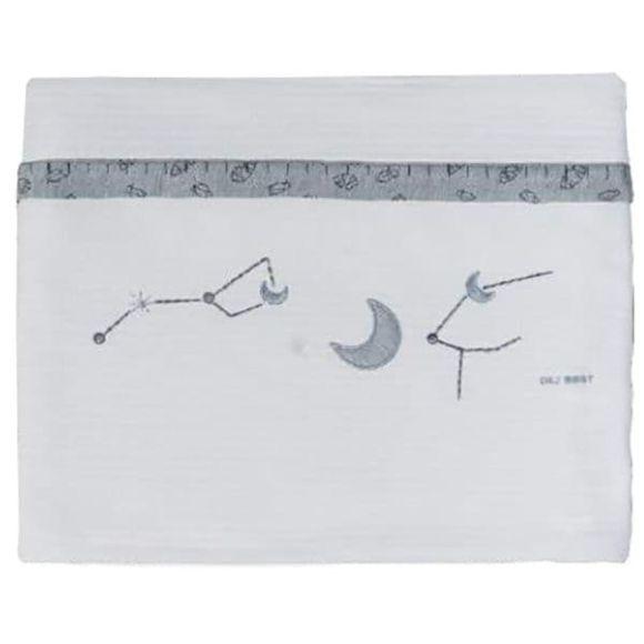 Κουβέρτα κρεβατιού Picci mezzopeso από τη συλλεκτική σειρά Dili Best σχέδιο Astrid blue στο Bebe Maison