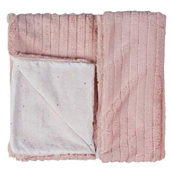 Κουβέρτα κρεβατιού γουνάκι Picci από τη συλλεκτική σειρά Dili Best σχέδιο Astrid pink στο Bebe Maison