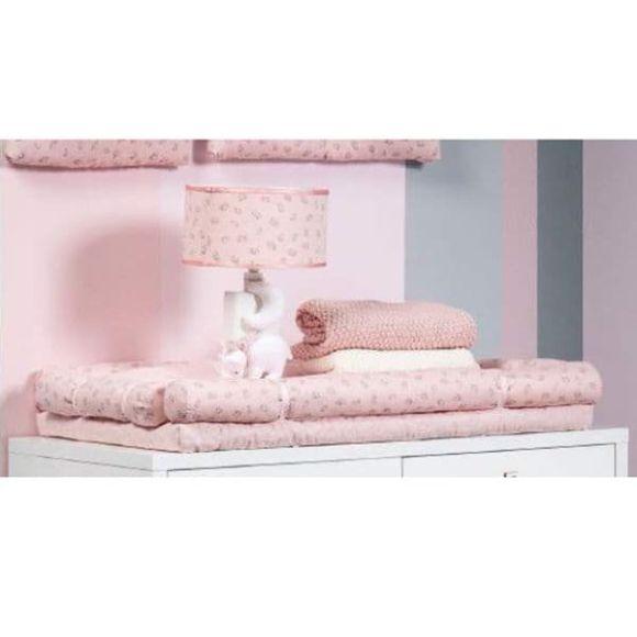 Αλλαξιέρα επίπλου Picci από τη συλλεκτική σειρά Dili Best σχέδιο Astrid pink στο Bebe Maison