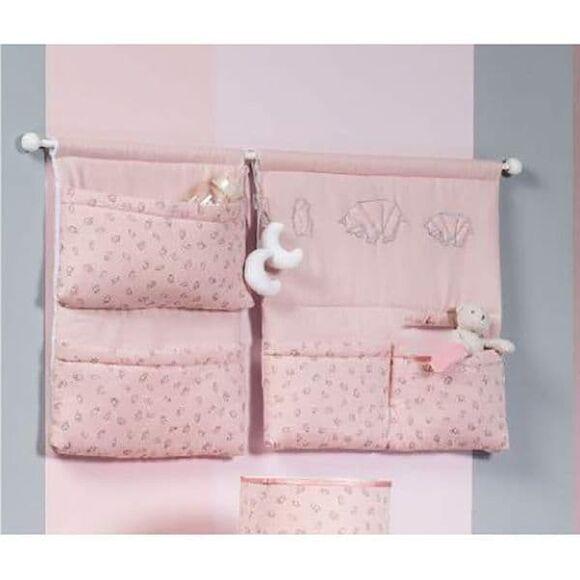 Πανό τοίχου Picci από τη συλλεκτική σειρά Dili Best σχέδιο Astrid pink στο Bebe Maison
