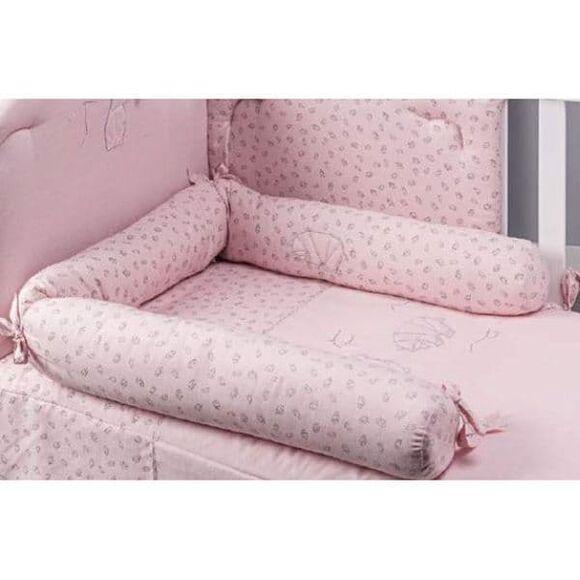 Μειωτής κρεβατιού-καραμέλα Picci από τη συλλεκτική σειρά Dili Best σχέδιο Astrid pink στο Bebe Maison