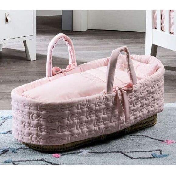 Καλαθούνα Picci από τη συλλεκτική σειρά Dili Best σχέδιο Astrid pink στο Bebe Maison