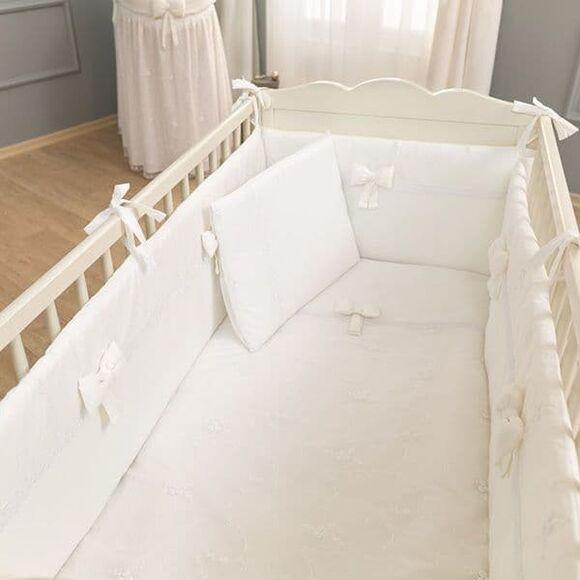 Σετ προίκας 3τμχ Funna Baby σχέδιο Premium White στο Bebe Maison