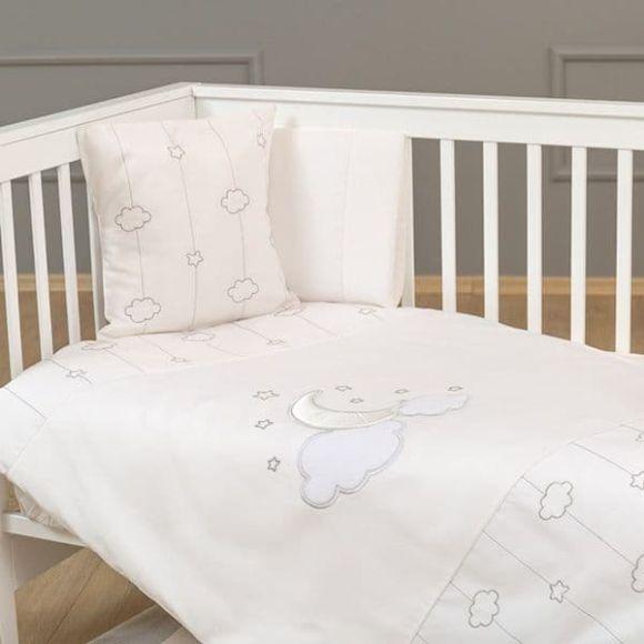 Σετ σεντόνια 3τμχ Funna Baby σχέδιο Luna Chic στο Bebe Maison