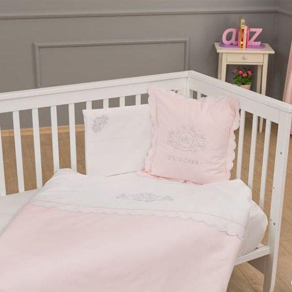Σετ σεντόνια 3τμχ Funna Baby σχέδιο Princess στο Bebe Maison