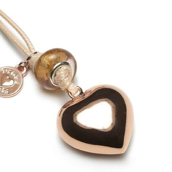 ProudMama Babybell ροζ χρυσή καρδιά στο Bebe Maison