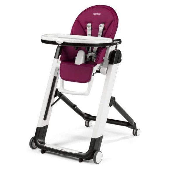 Καρέκλα φαγητού Peg Perego Siesta Follow me χρώμα Berry με δώρο μαξιλαράκι baby cushion στο Bebe Maison