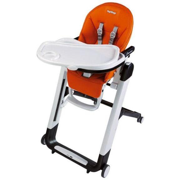 Καρέκλα φαγητού Peg Perego Siesta Follow me χρώμα Ambiance Brown με δώρο μαξιλαράκι baby cushion στο Bebe Maison