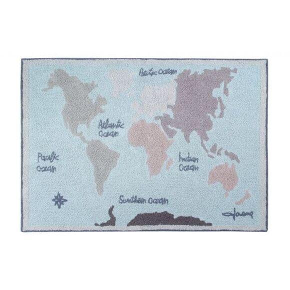 Παιδικό χαλί Lorena Canals Vintage Map 140x200 στο Bebe Maison