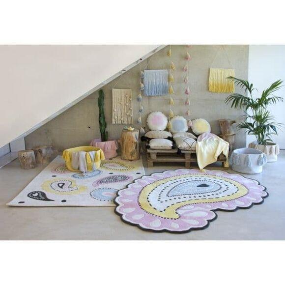 Κρεμαστό διακοσμητικό Lorena Canals Tie-Dye κίτρινο στο Bebe Maison